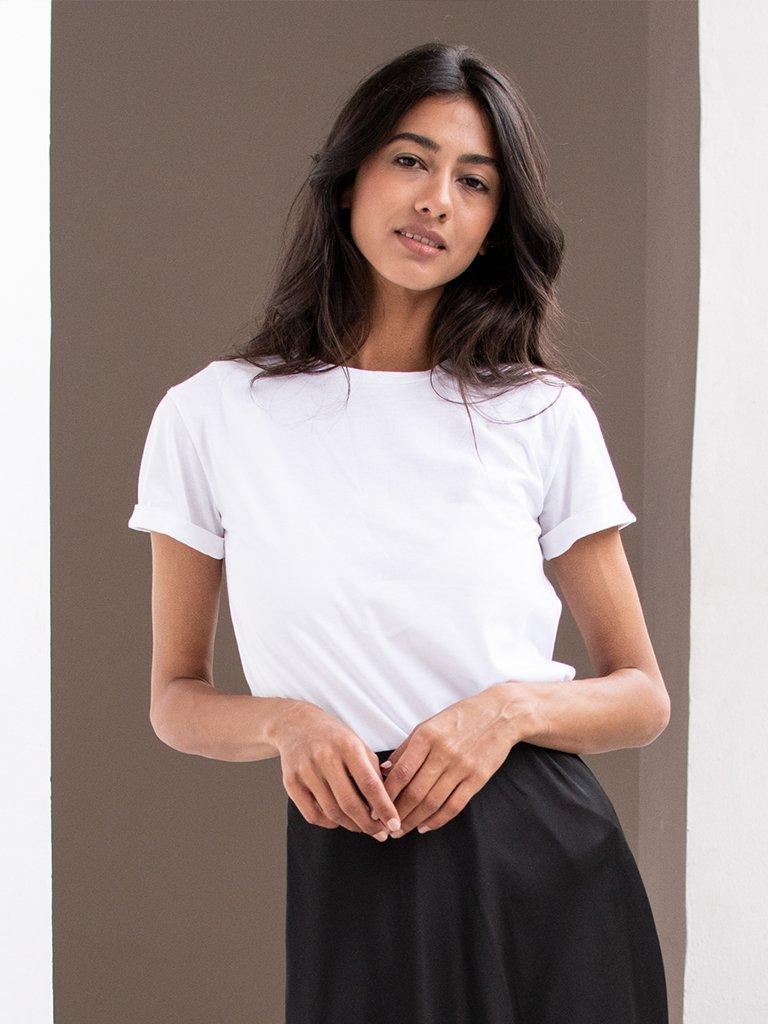 T-shirt biały Katarina Ivanenko (zdjęcie 2)