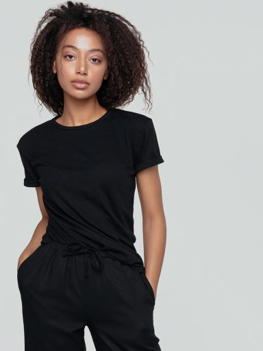 T-shirt czarny Katarina Ivanenko (zdjęcie 14)