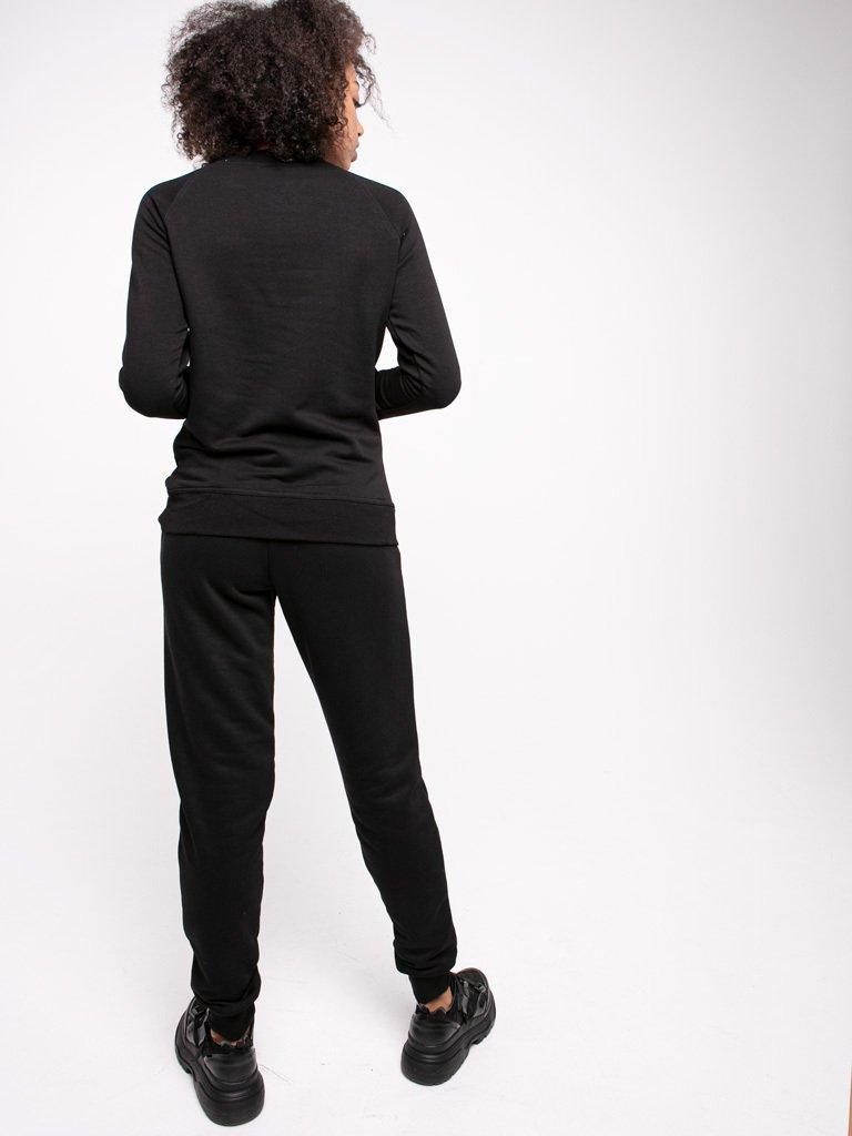 Spodnie dresowe skinny na gumce Love&Live (zdjęcie 2)