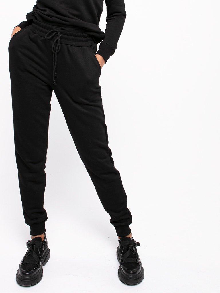 Spodnie dresowe skinny na gumce Love&Live (zdjęcie 3)