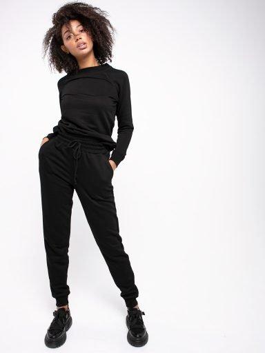 Spodnie dresowe skinny na gumce Love&Live (zdjęcie 6)