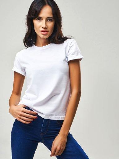 T-shirt biały Katarina Ivanenko (zdjęcie 15)