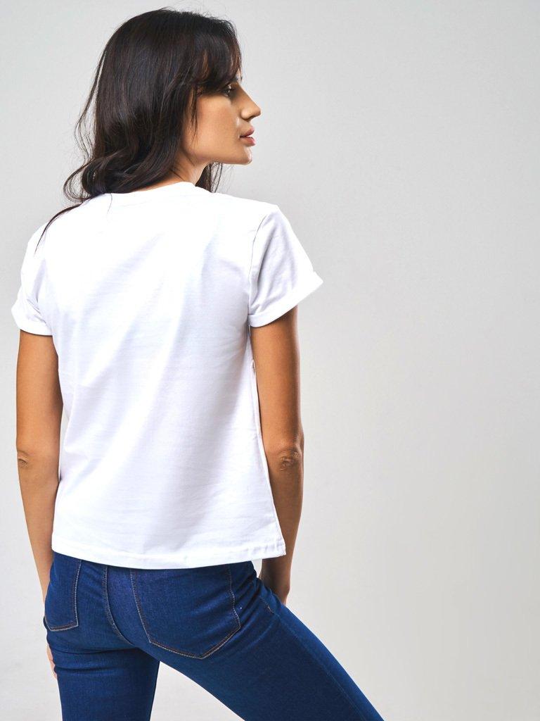 T-shirt SAVE WATER DRINK CHAMPAGNE Katarina Ivanenko (zdjęcie 2)