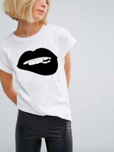 T-shirt biały Całunek Wampira Katarina Ivanenko (zdjęcie 14)
