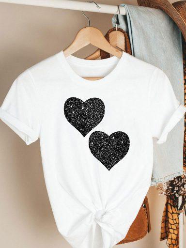 T-shirt biały Together Katarina Ivanenko (zdjęcie 3)