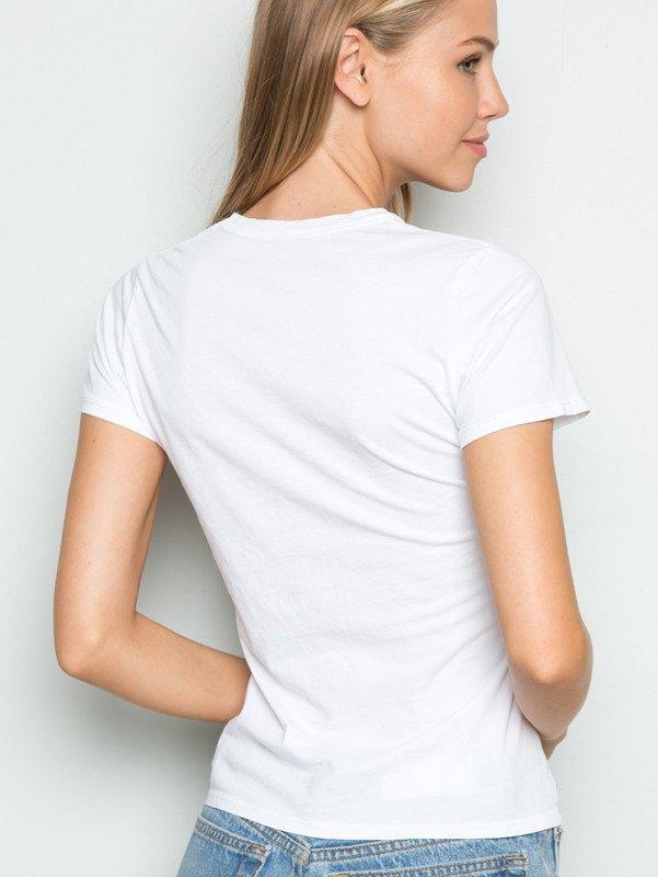 T-shirt biały Skarpetka Love&Live (zdjęcie 2)