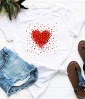 T-shirt biały kawałki miłości Love&Live (zdjęcie 18)