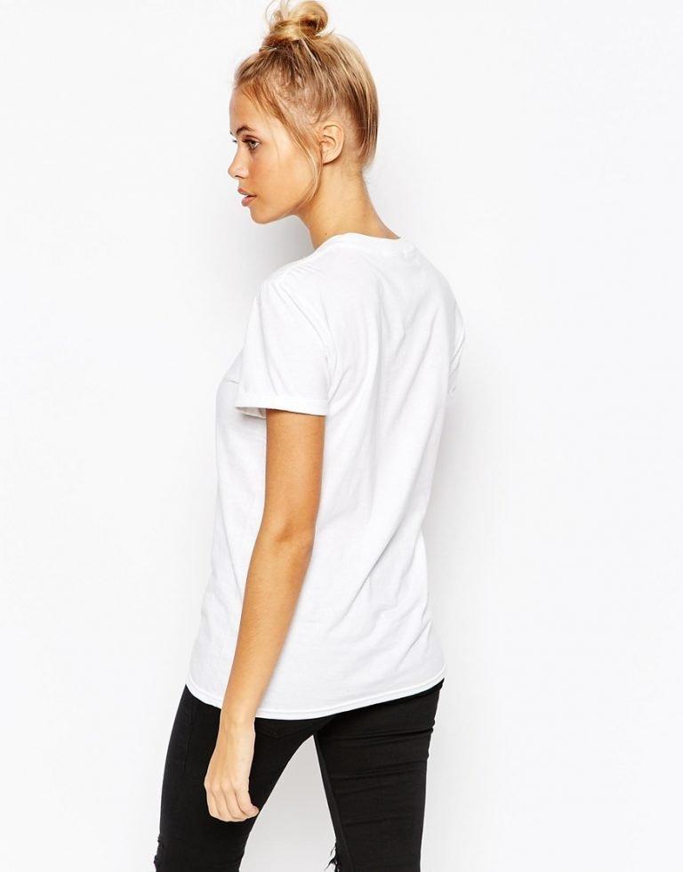 T-shirt biały Green Katarina Ivanenko (zdjęcie 2)