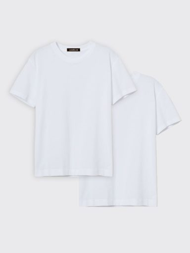 Zestaw t-shirtów białych 2 szt. Love&Live