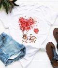 T-shirt biały Drzewo miłości Love&Live (zdjęcie 22)