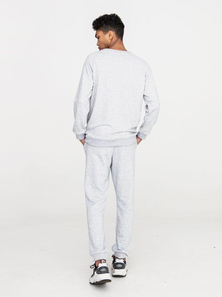 Szare spodnie dresowe Love&Live (zdjęcie 9)