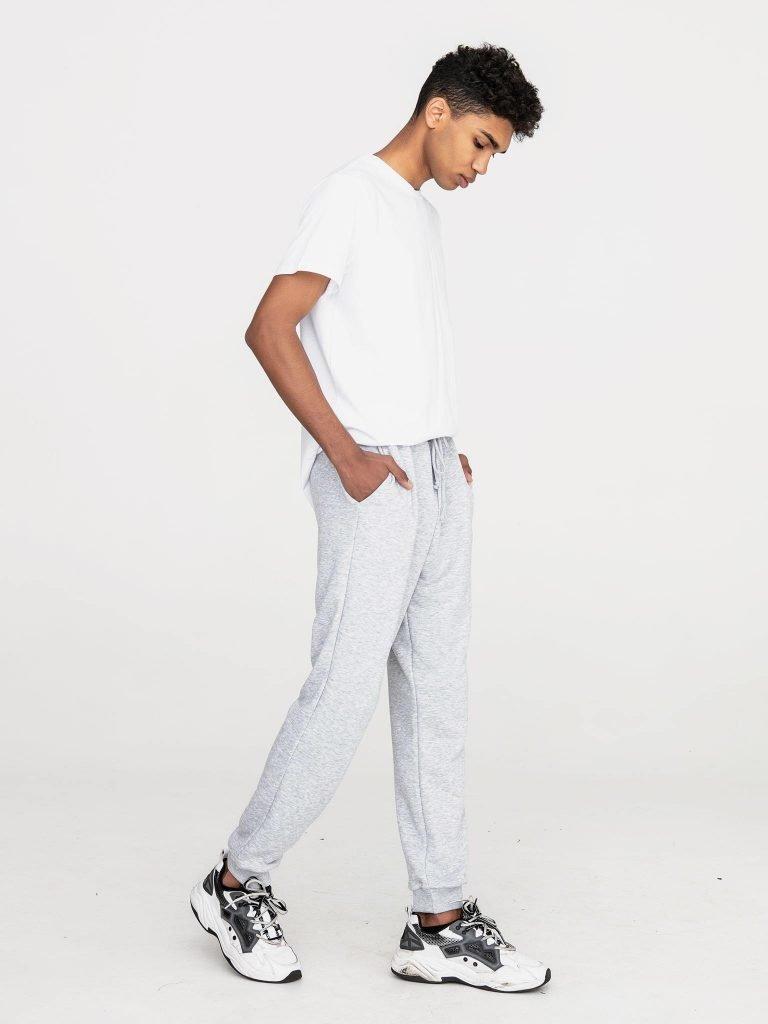 Szare spodnie dresowe Love&Live (zdjęcie 2)
