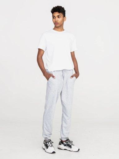 Szare spodnie dresowe Love&Live (zdjęcie 7)