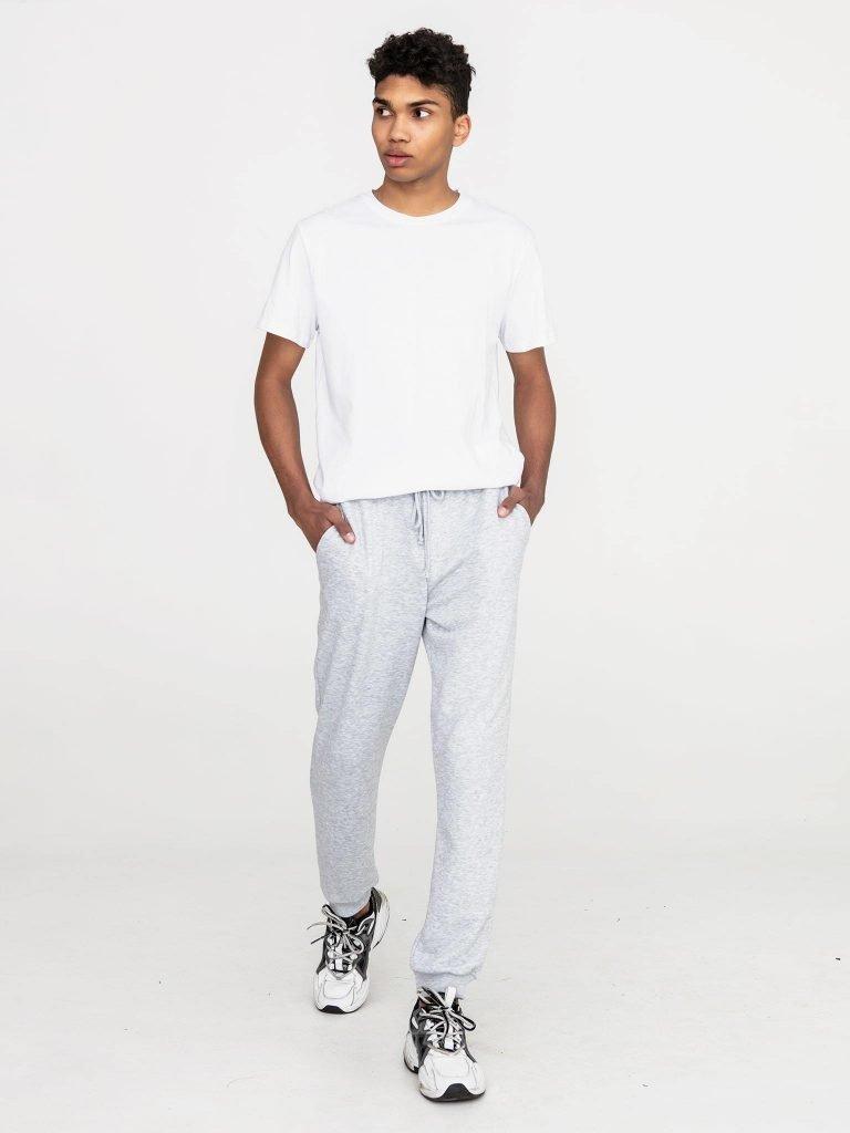 Szare spodnie dresowe Love&Live (zdjęcie 3)