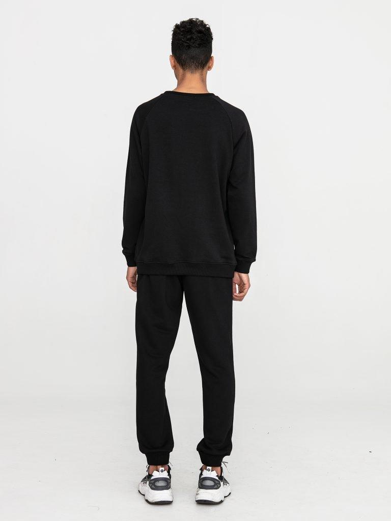 Czarne spodnie dresowe Love&Live