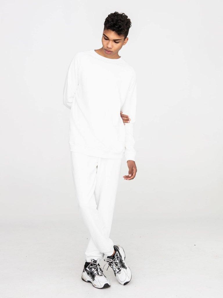 Biała bluza dresowa Love&Live (zdjęcie 3)