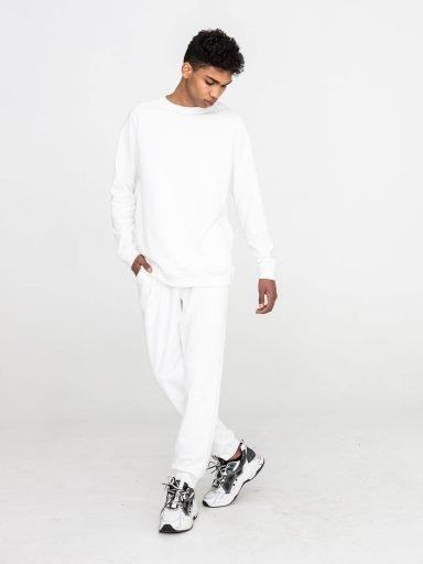 Biała bluza dresowa Love&Live (zdjęcie 10)