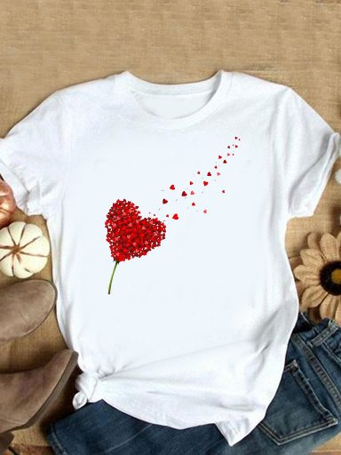 T-shirt biały Miłość wisi w powietrzu Love&Live (zdjęcie 4)