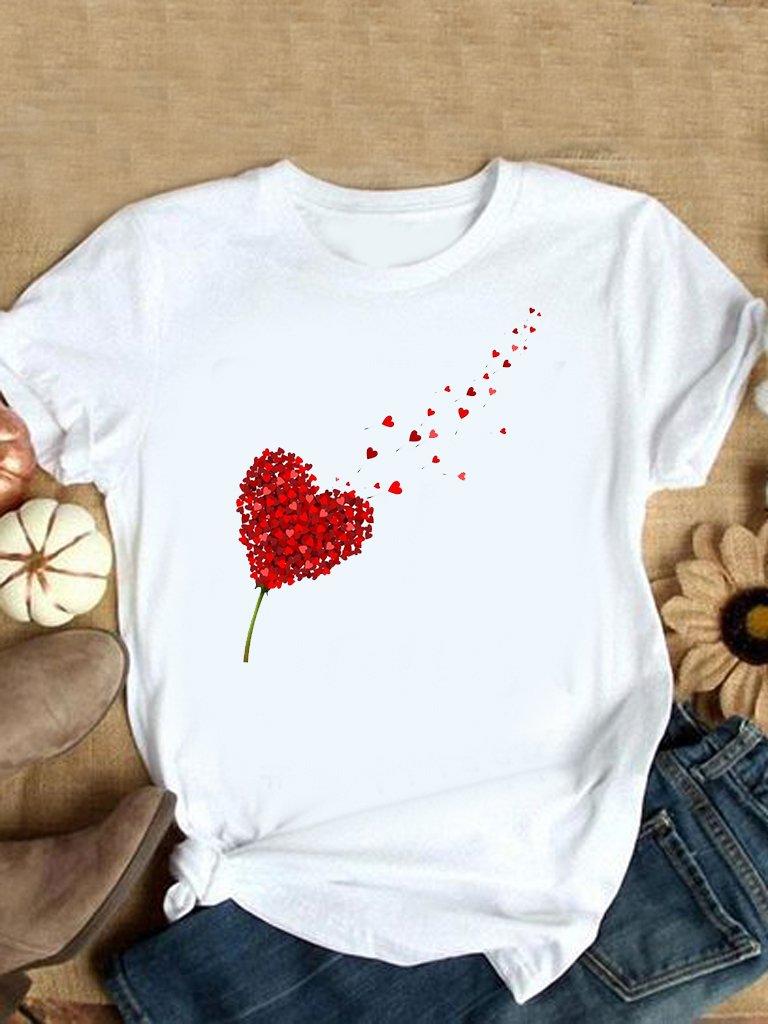 T-shirt biały Miłość wisi w powietrzu Love&Live