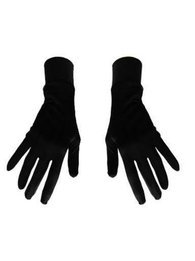 Damskie rękawice bawełniane czarne Katarina Ivanenko (zdjęcie 18)