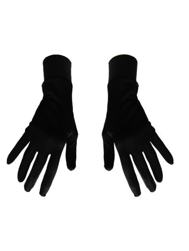 Damskie rękawice bawełniane czarne Katarina Ivanenko