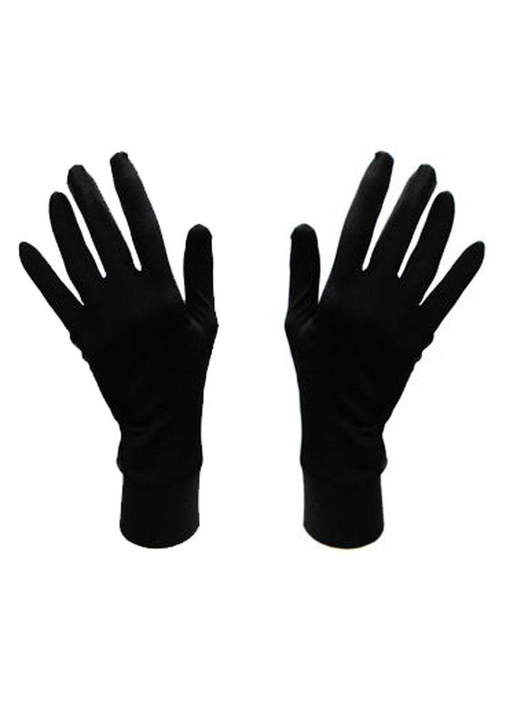 Damskie rękawice bawełniane czarne Katarina Ivanenko (zdjęcie 2)