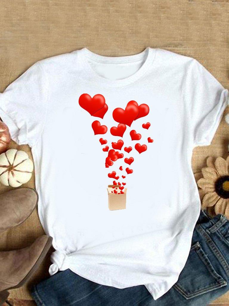 T-shirt biały Miłość w prezencie Love&Live