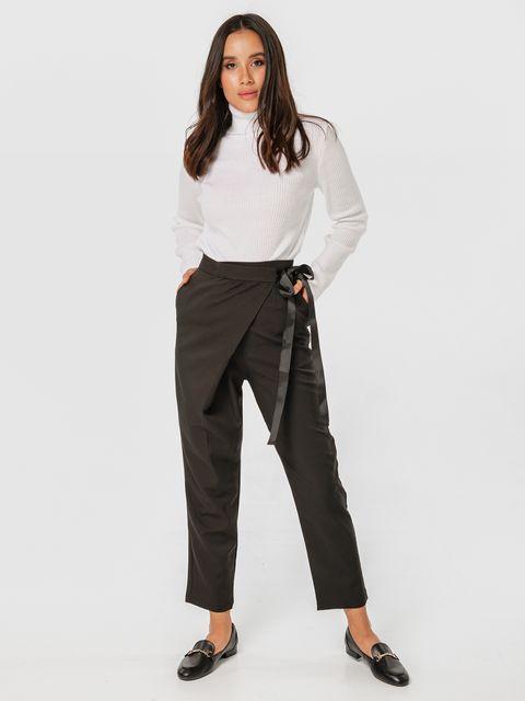 Czarne spodnie z zapachem Katarina Ivanenko (zdjęcie 2)