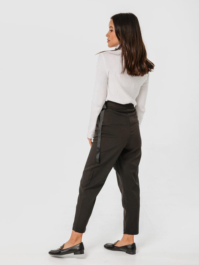 Czarne spodnie z zapachem Katarina Ivanenko (zdjęcie 3)