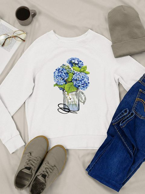 Bluza w kolorze białym Hortensja Love&Live