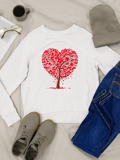 Bluza w kolorze białym Liato Love&Live