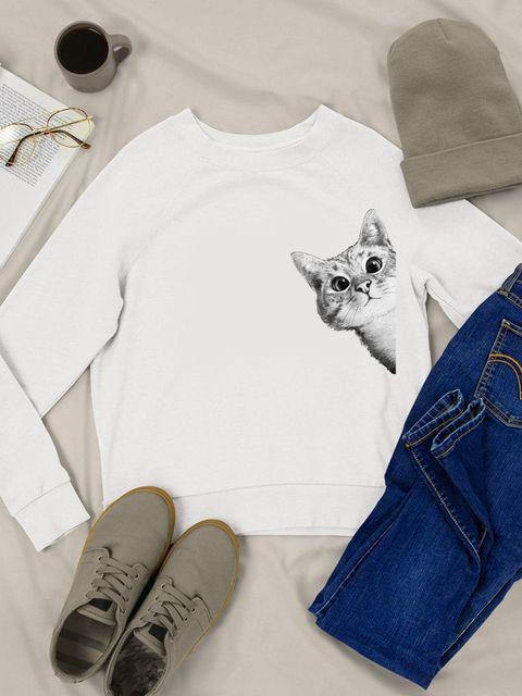 Bluza w kolorze białym Gospodyni Love&Live
