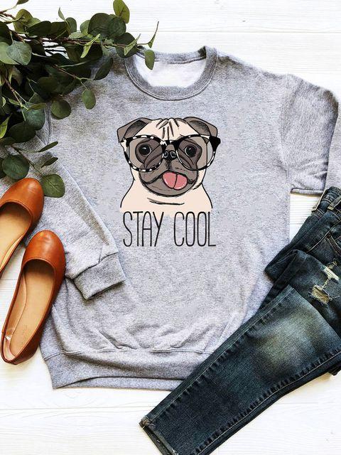 Bluza w kolorze szarym Stay Cool Love&Live
