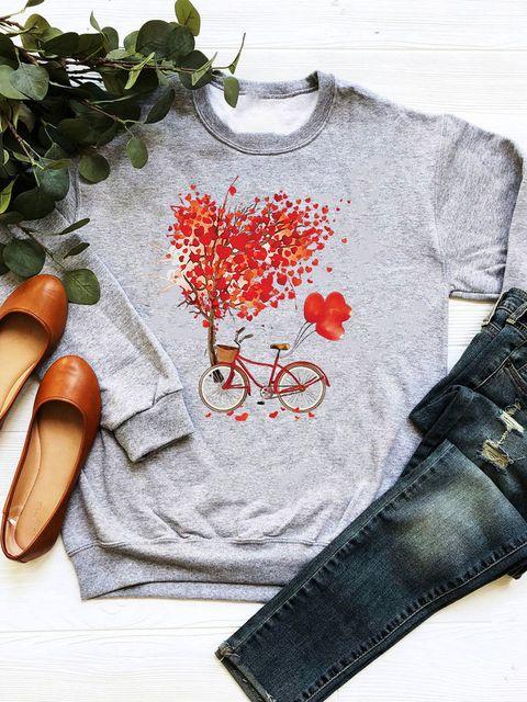 Bluza w kolorze szarym Drzewo miłości Love&Live