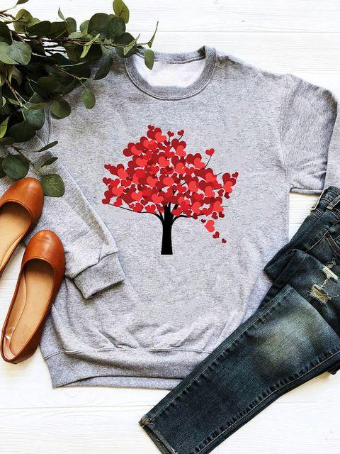 Bluza w kolorze szarym Jesień Love&Live