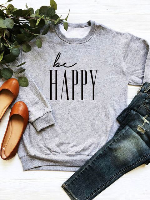 Bluza w kolorze szarym Be happy Love&Live