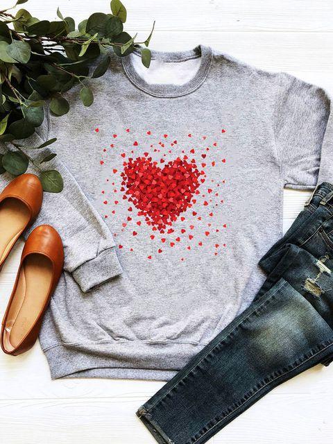 Bluza w kolorze szarym Kawałki miłości Love&Live