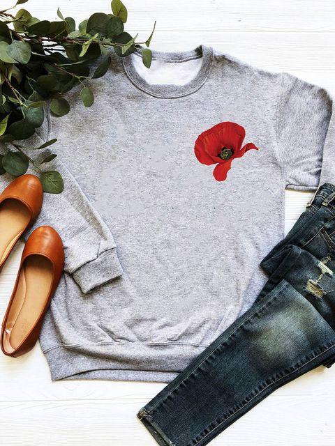 Bluza w kolorze szarym Mak Love&Live