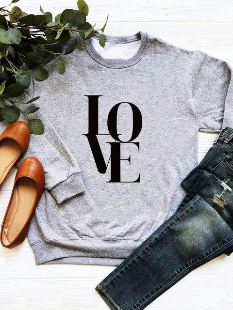 Bluza w kolorze szarym Miłość Love&Live