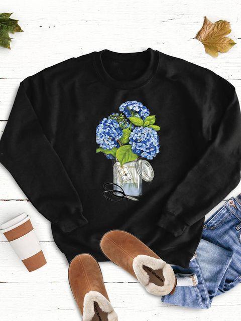Bluza w kolorze czarnym Hortensja Love&Live