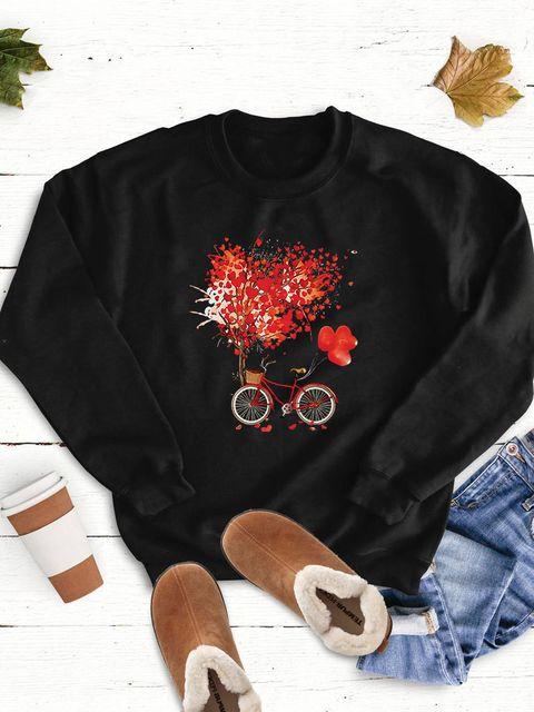 Bluza w kolorze czarnym Drzewo miłości Love&Live