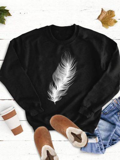 Bluza w kolorze czarnym Nieważkość Love&Live