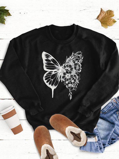 Bluza w kolorze czarnym Butterfly Love&Live
