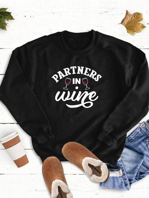 Bluza w kolorze czarnym Partners in wine Love&Live