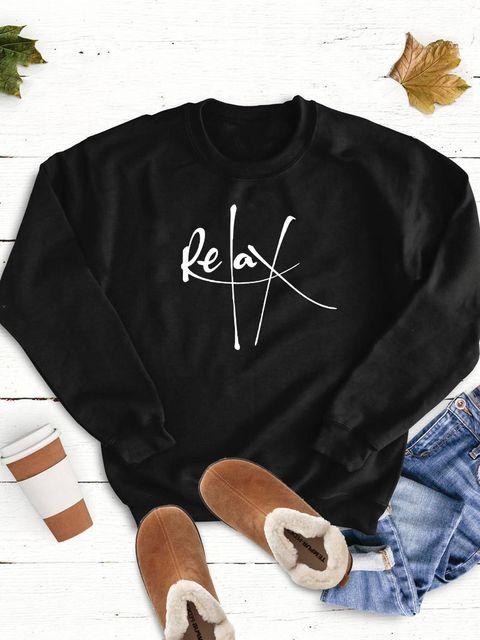 Bluza w kolorze czarnym Relax Love&Live