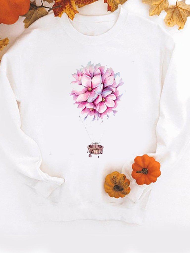 Bluza w kolorze białym Magnolia Love&Live