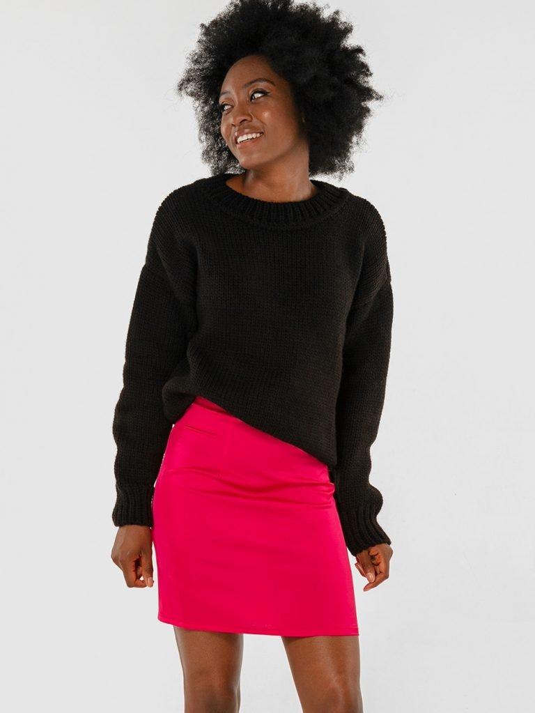 Sweter czarny Katarina Ivanenko