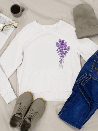 Bluza w kolorze białym Lavenda Love&Live (zdjęcie 18)
