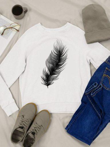 Bluza w kolorze białym Nieważkość Love&Live
