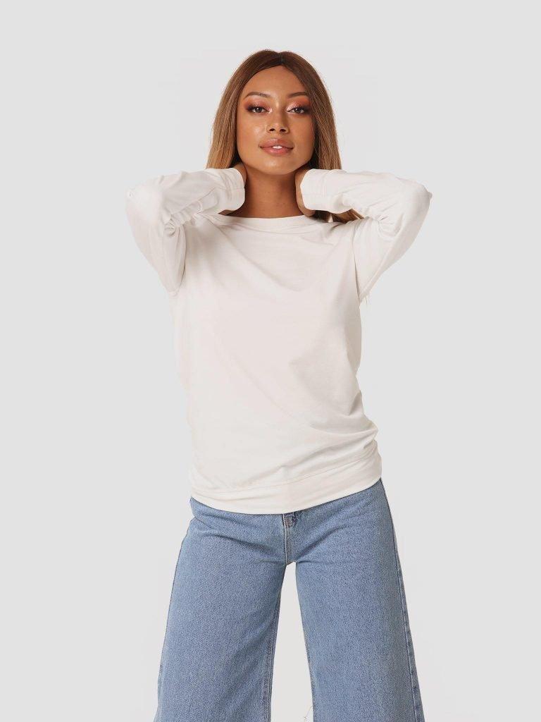 Bluza mleczna ZuZu (zdjęcie 3)